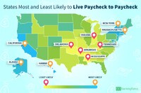 Where People Live Paycheck to Paycheck