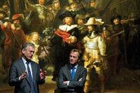 Rembrandt's Night Watch Comes into View