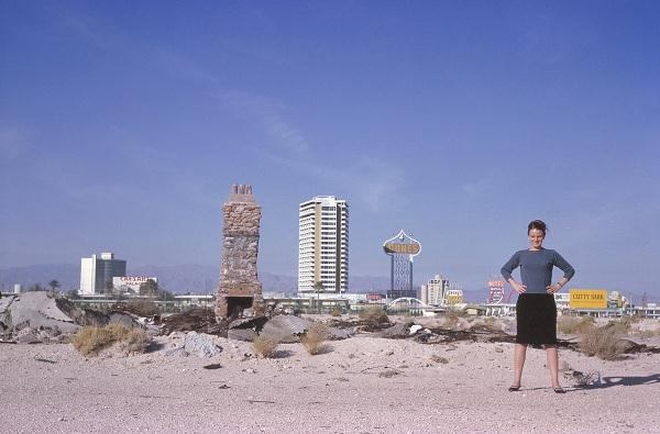 Denise Scott Brown in Las Vegas, 1966.
