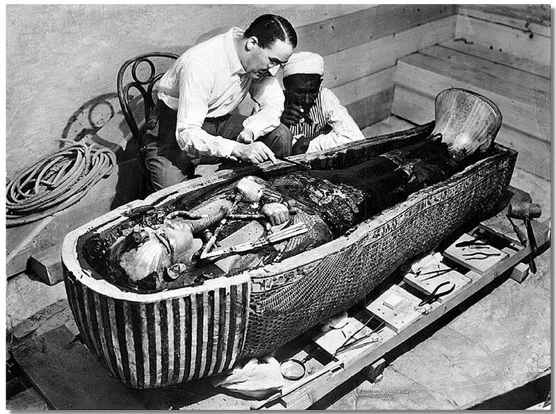 British archaeologist Howard Carter unearthed King Tut's tomb in 1922.