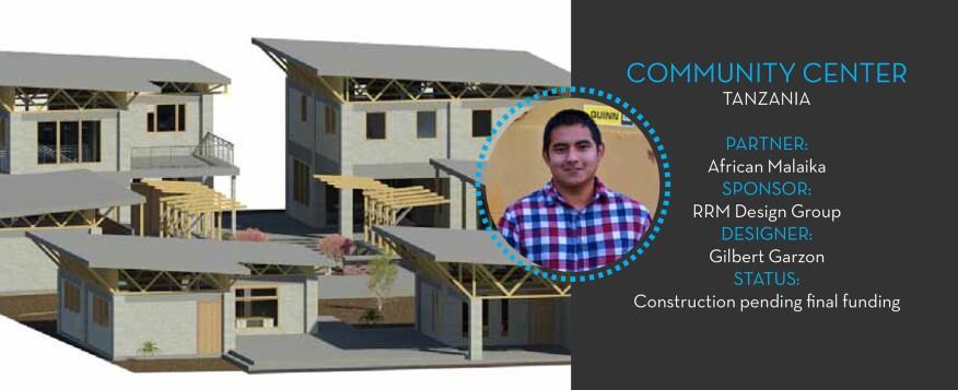 A design proposal for a community center in Dar es Salaam, Tanzania
