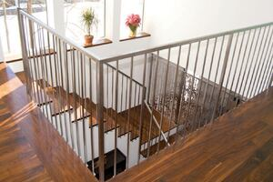 On the Job: Welded Steel Handrailing