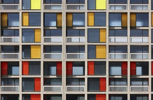 Park Hill in Sheffield by London-based Hawkins\Brown.