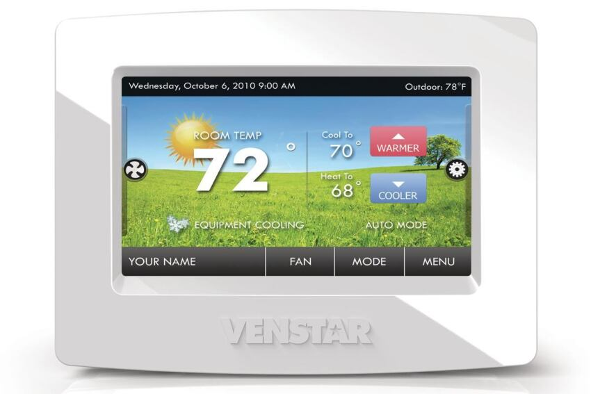 Ventstar's ColorTouch Thermostat
