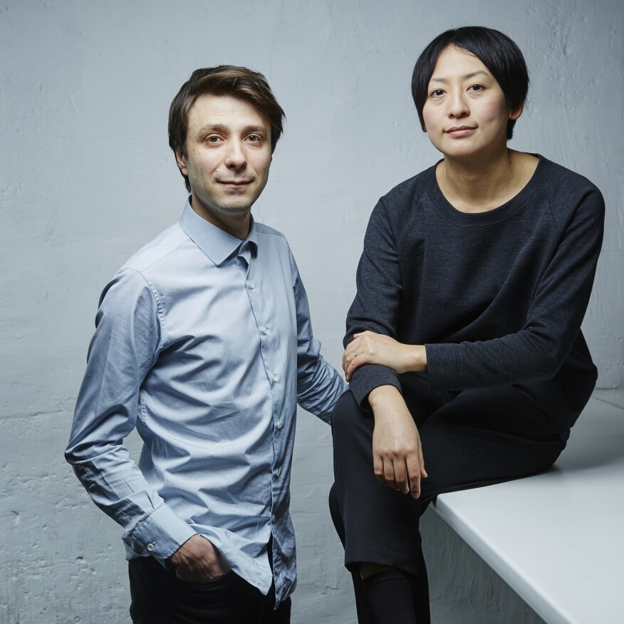 Nicolas Moreau and Hiroko Kusunoki