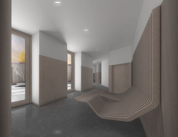 Interior rendering.