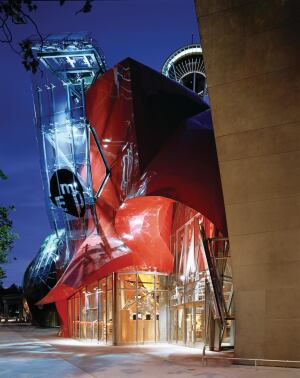 The Experience Music Project|Science Fiction Museum in Seattle