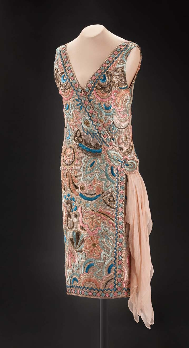 Jenny Of Paris Emilie Grigsby Evening Dress About 1926 Textile Peabody Essex