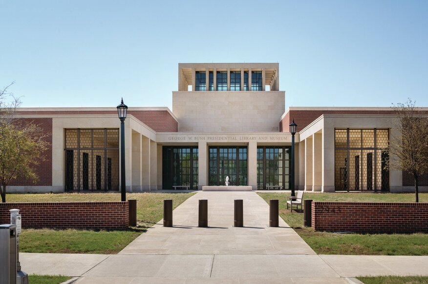 George w bush presidential center architect magazine for Hanley wood texas