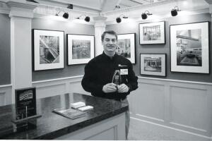 Steve Dormannís local builders association provides him with several marketing opportunities, including this home show.