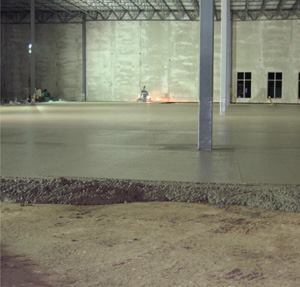 The science of construction of large retail space floor slabs continues to develop at a fast pace.