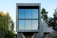 A Finnish Couple's Concrete, Empty-Nest Villa