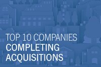 Top 10 Companies Completing Acquisitions in 2015