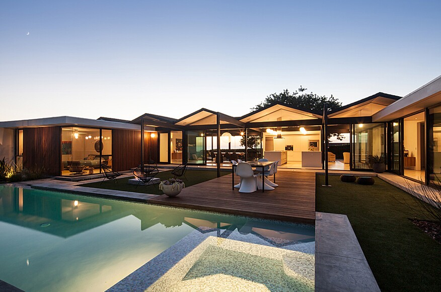 Henbest house residential architect ras a rancho for Residential architect design awards