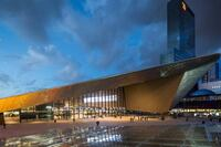 Rotterdam Central Station Sets a New Standard for the Design of Public Transportation