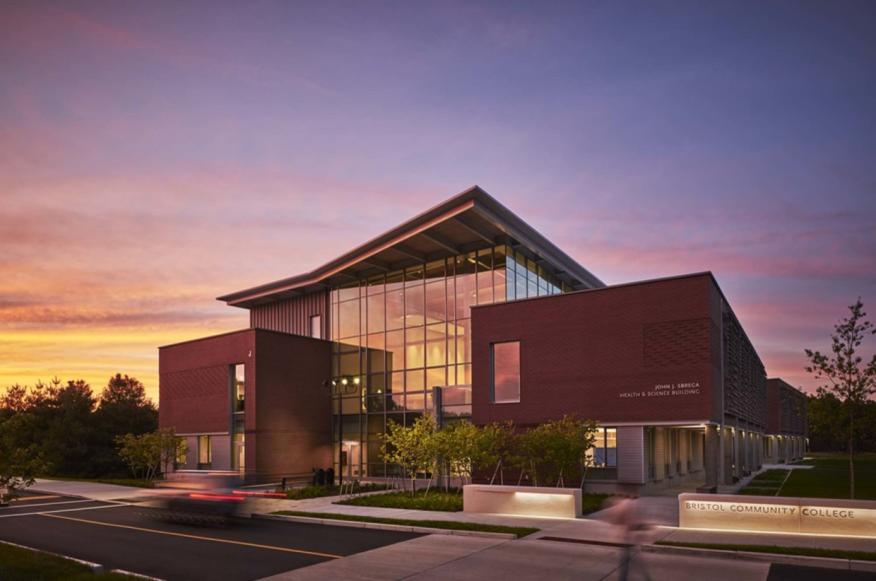 Bristol Community College John J. Sbrega Health and Science Building - Fall River, Mass.