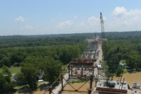 Challenging Formwork for Ohio River Bridge