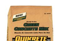 Recycled-Content Concrete Mix From Quickcrete