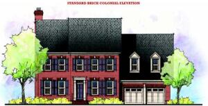BASIC COLONIAL: The classic five-over-four-and-a-door elevation can be a good starting point for other, more varied, façades. Alternating elevations is critical in communities with look-alike ordinances.