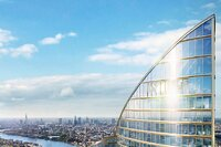 Western Europe's Tallest Residential Skyscraper to be Built in London