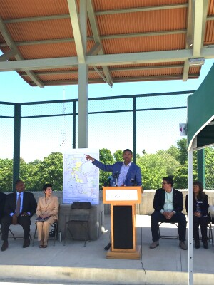 Kevin Johnson, mayor of Sacramento, Calif., says the Promise Zone initiative provides new opportunities for his city. (Photo courtesy of Imron Bhatti of HUD)