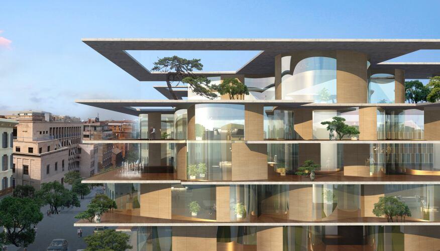71 Via Boncompagni, MAD Architects, Rome