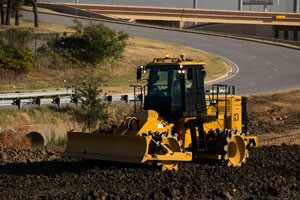 Cat 815K soil compactor