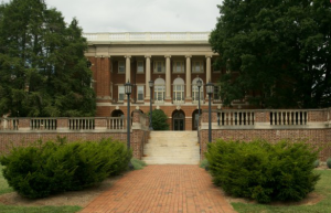 Benedict Hall (originally called Academic Hall) was built in 1906 and is one of the original four buildings on campus at the college's opening.