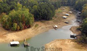 RUNNING ON EMPTY: Depending on whom you talk to, Georgia's Lake Lanier has either days or months  before it runs dry.