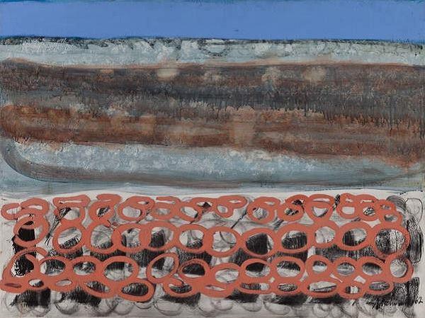 """Richard Artschwager, """"Untitled,"""" 1962."""