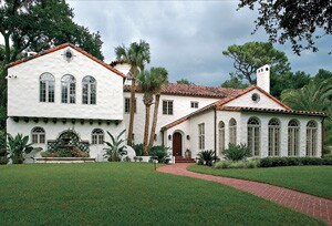 Victor Farina, of Farina and Sons, taps the expertise of period consultants when remodeling older homes such as this one.