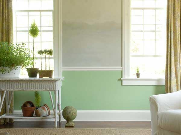 A shade from the Elemental Greens Palette in Benjamin Moore's Color Series collection.