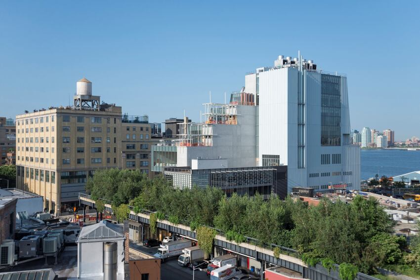 The New Whitney Museum of American Art by Renzo Piano Will Open in May
