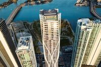 Miami's Luxury Highrise, One Thousand Museum Tower, Designed by Zaha Hadid Architects