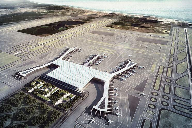 New Renderings Released for the World's Next Biggest Airport Terminal in Istanbul