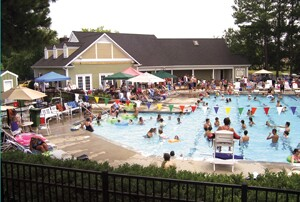 SouthEnd Home Improvement's micro-marketing campaign culminated in a pool party attended by 480 people.