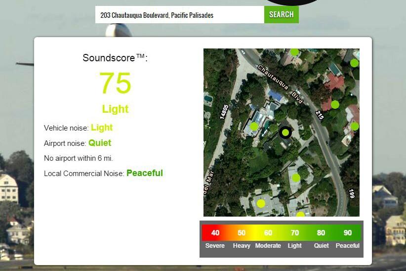 Soundscore for Eames House.