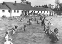 From the time the Bruckhauser Pool opened in 1937 (above and below), the people of Kalispell have enjoyed their summer swims. Beginning next year, they?ll have a new, modern facility to visit.