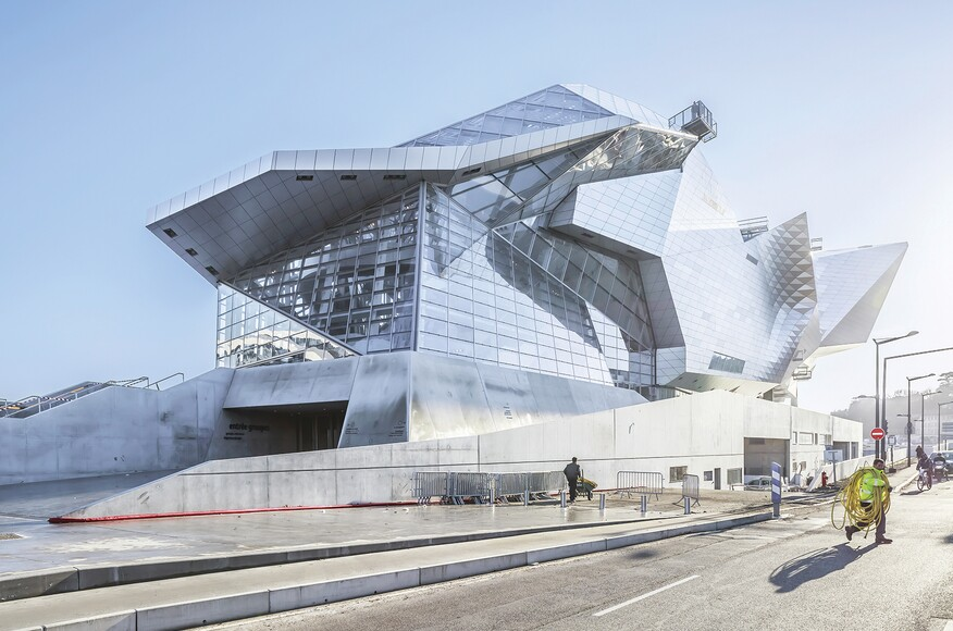 Mus e des confluences architect magazine coop himmelb for Prix architecte