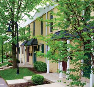 ON SALE: The recently renovated, 36-unit Chesterfield Parkview Townhomes in Chesterfield, Mo., is on the market for $110,000 a unit.