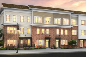 The Heights at Main Street is a new town home development under construction at Main Street North Brunswick.
