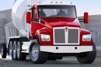 Kenworth Features New T880S Mixers at World of Concrete