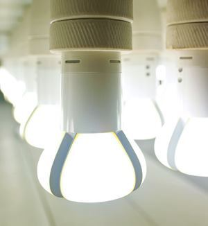 The Philips LED L Prize lamp