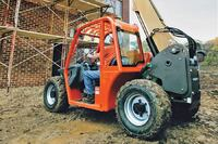 JLG's Heavy Lifting, Compact Telehandler