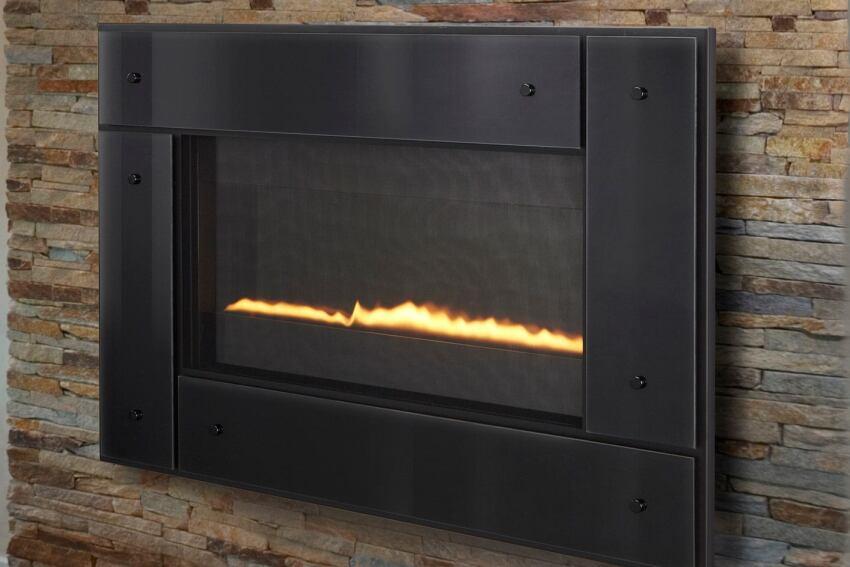 Editor's Pick: Ultra-Slim Fireplace