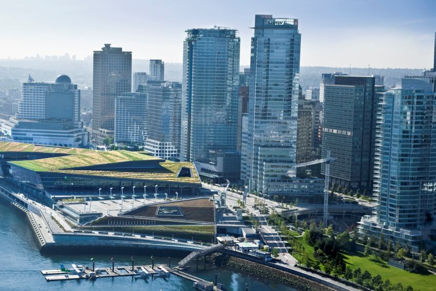 AIA COTE 2011 Top Ten Green Projects: Vancouver Convention Centre West