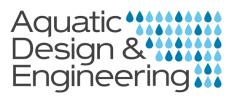 Aquatic Design & Engineering (ADE) Logo