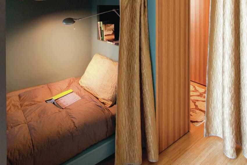 Built-In Bunks Add Space for Guests
