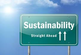 Sustainability sign