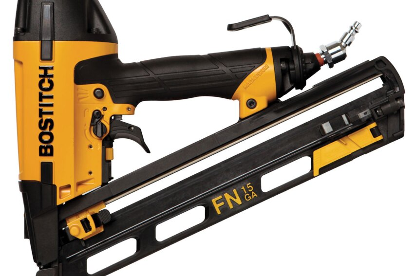 Bostitch N62FNK-2 15-gauge fi nish nailer